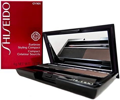 Shiseido Eyebrow Styling Compact for Women, No. GY901 Deep Brown, 0.14 oz