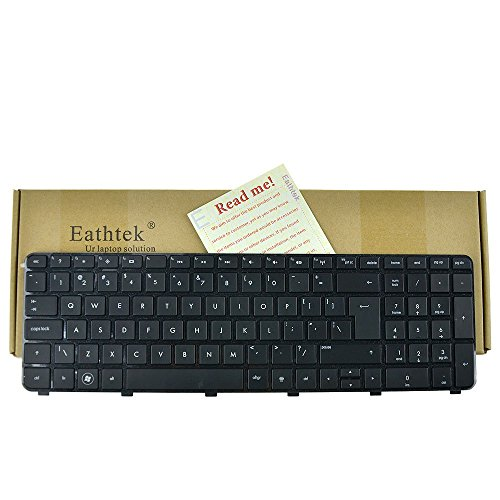 Eathtek Replacement Keyboard with BIG Enter for HP Pavili...