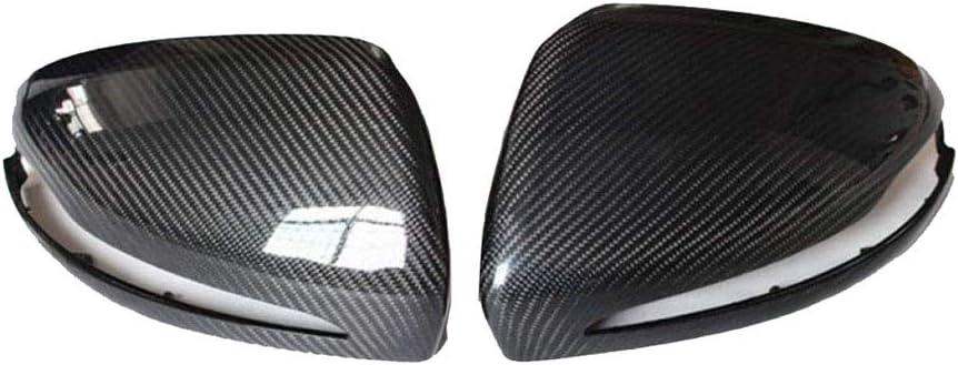 Couverture de miroir de vue arri/ère de fibre de carbone chapeaux lat/éraux de couverture de miroir daile pour Classe C W205 2015-2018