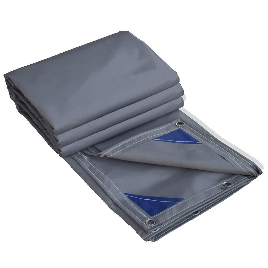 Zeltplanen Wasserdichte Plane Regenfestes Tuch Poncho Markise Leinwand Dicker Linoleum Schatten Sonnenschutztuch (größe   3  4M)