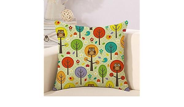 A-Covers 1 PC Árbol Simple de la Vida con el patrón del Buho ...