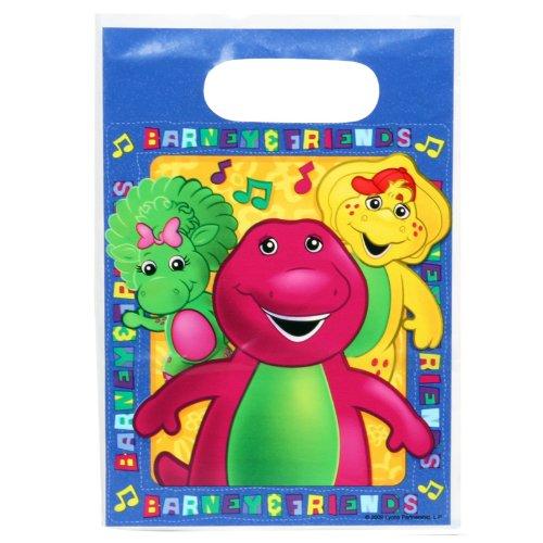 Barney Treat Bags - 6