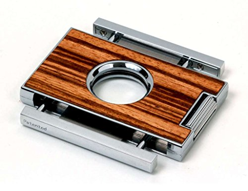 Brizard & Co. Elite Series Zebrawood Cigar Cutters by Brizard & Co