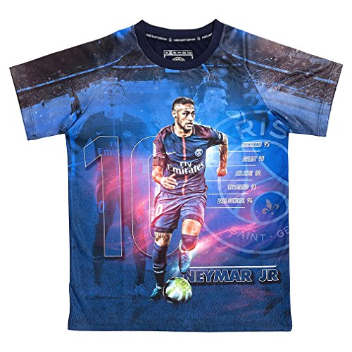 2db49e1102 PSG - Official Paris Saint-Germain 'Neymar Jr' Kids Soccer Jersey - Blue
