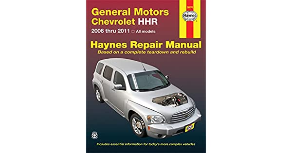 Amazon Com General Motors Chevrolet Hhr 2006 Thru 2011 Todos Los