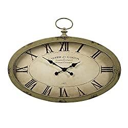 IMAX 89019 Sophie Oval Wall Clock