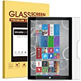 Surface Pro 4 Screen Protector [Tempered Glass], SPARIN Ultra Clear High Definition Tempered Glass Screen Protector for Microsoft Surface Pro 4 12.3 inch (2015 Version)
