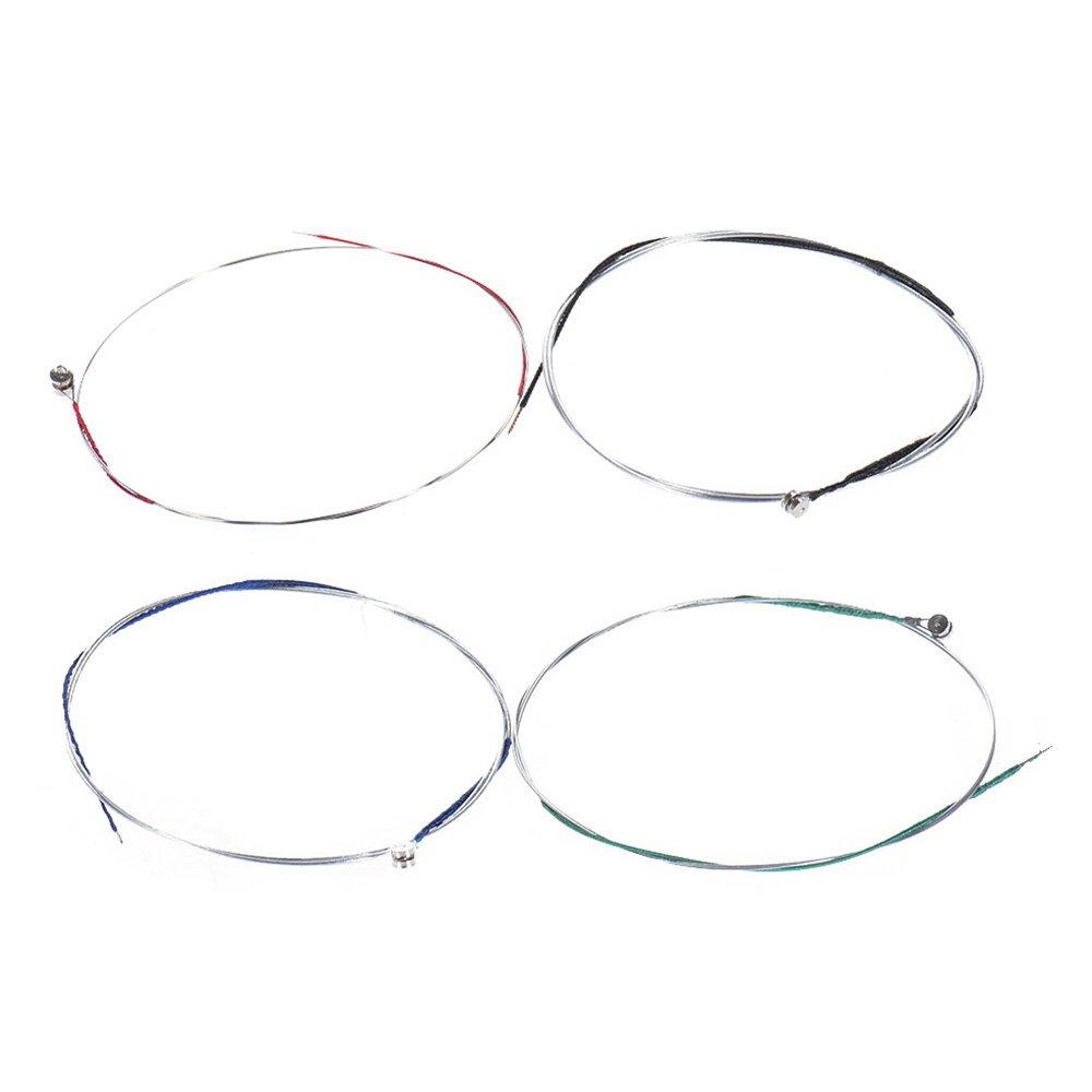 ammoon Juego Completo Alta Calidad Tamaño para Violín 1/2 y 1/4 Violín Cuerdas de Acero G D A y E Cuerdas product image