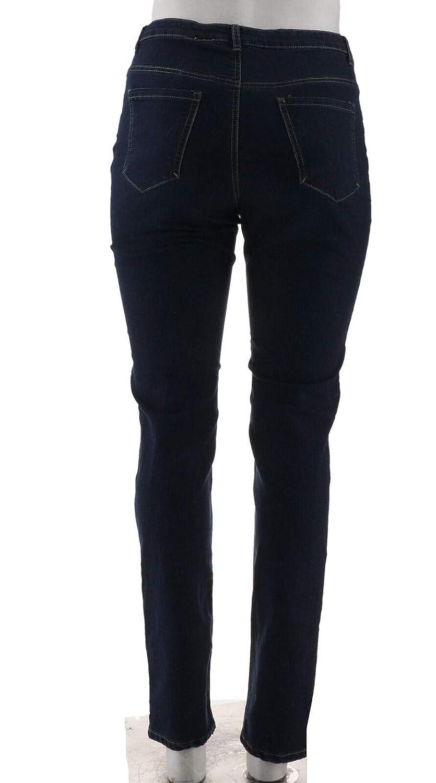 BROOKE SHIELDS Timeless Tall Full Length Slim Leg Jeans A307315