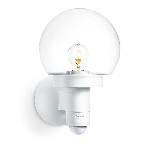 Steinel 657413 L 115 S Lámpara Sensor para el exterior con cristal, blanco, con