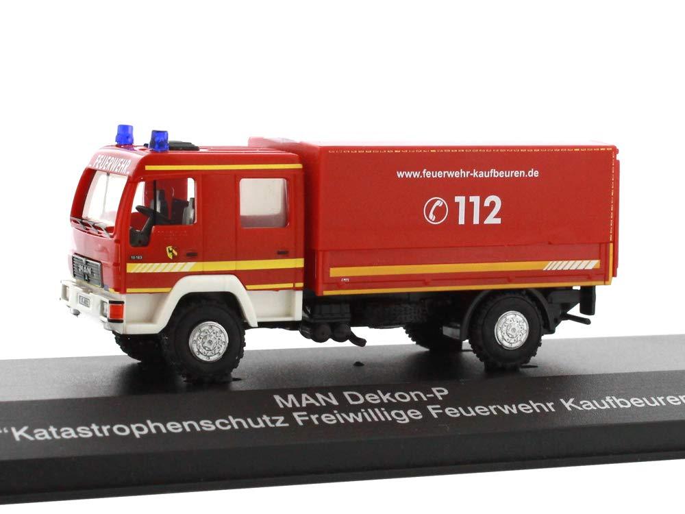 Mehrfarbig Reitze 68039 Rietze Man Dekon-P Katastrophenschutz Fw Kaufbeuren 1:87 H0