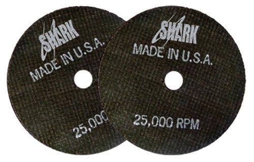 Shark Welding 20 Shark Cut-Off Wheel, 2-Inch by 1/16 -Inch by 1/4-Inch, 10-Pack