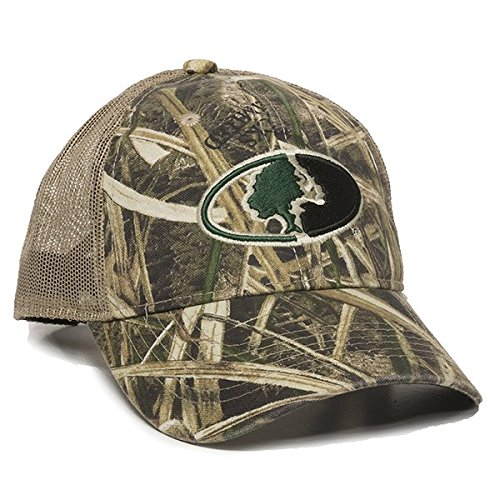 Outdoor Cap Mossy Oak Camouflage mesh Back Cap, Shadow Grass Blades/Tan, Adult