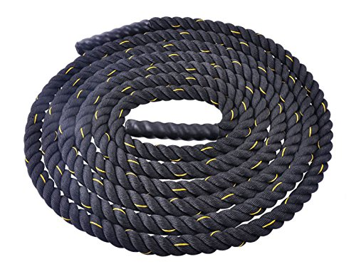 Battle Rope Physical Strength Fitness Exercise Rope 1.5 in / 30 ft