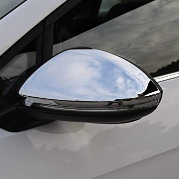 Chrome side mirror cover For Toyota Corolla 2014-2016 without turn signal