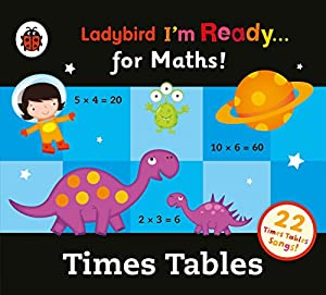 Ladybird Times Tables Audio Collection: I'm Ready for Maths Audiobook