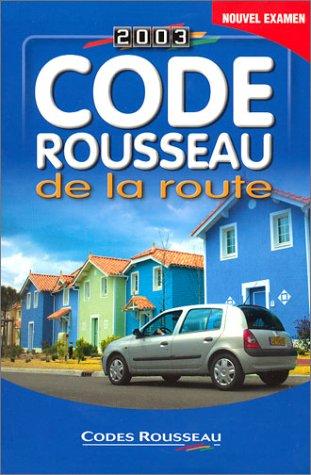 code rousseau de la route 2003