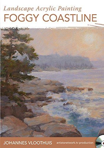 Landscape Acrylic Painting - Foggy Coastline