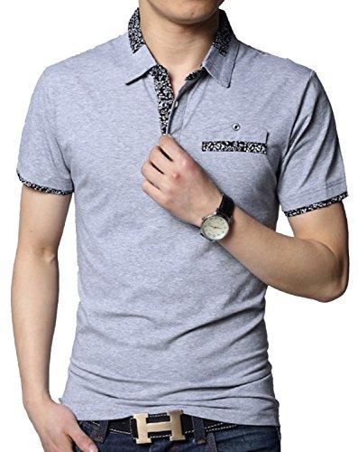 Heaven Days(ヘブンデイズ) ポロシャツ ゴルフウェア ゴルフシャツ 半袖 メンズ 17080085