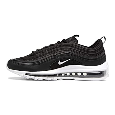 finest selection a2df7 ab933 Nike Air Max 97 (GS), Sneakers Basses Homme, Noir (Black/White 001 ...