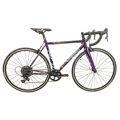 Cinelli Vigorelli Road Bike, Purple, 53cm/Medium