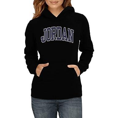 Idakoos Bordado Jordan - Apellidos - Sudadera con Capucha para Mujer: Amazon.es: Ropa y accesorios