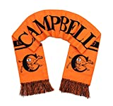 Campbell University Scarf - Campbell Camels Classic Orange Woven