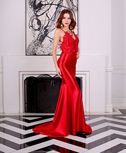 Missord Cocktail Cocktail Cocktail Damen Missord Damen Kleid Kleid Rot Missord Rot Damen r4Hwqtzrx
