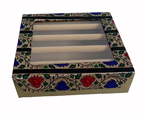 Sunrise Exporters Indian Hand Made Display Bangle Box 4 Raw Size:- (Inche) 12x11x3.5