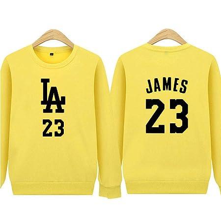 nveada Lakers James 23 Baloncesto Casual Camisa De Manga ...