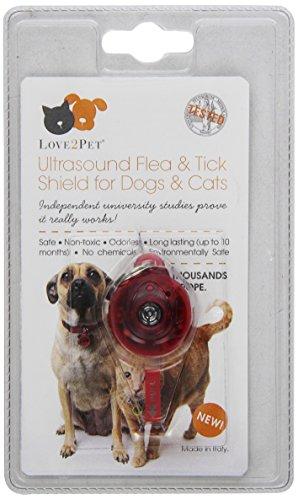 Dog Shield Tag - Love2Pet Ultrasonic Flea and Tick Shield