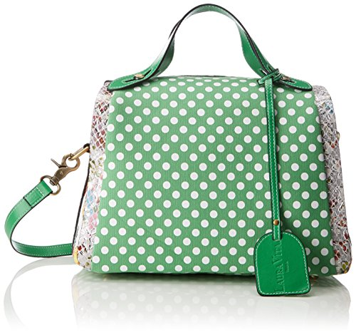 Verde Mujer hombro bolsos Laura Vert Shoppers de Dourges y Vita qH8846Uw