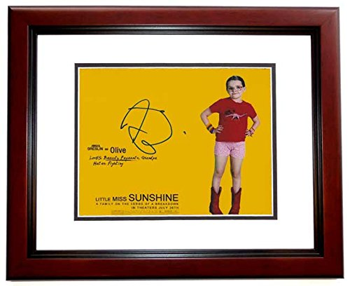 Abigail Breslin Signed - Autographed Little Miss Sunshine 8x10 inch Photo MAHOGANY CUSTOM FRAME