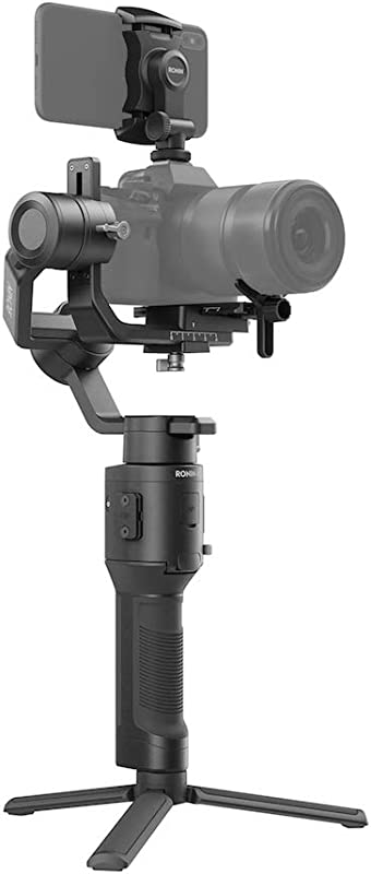DJI Ronin-SC - Camera Stabilizer 3-Axis Gimbal Handheld for Mirrorless Cameras up to 4.4 lbs / 2kg Payload for Sony Panasonic Lumix Nikon Canon, Black
