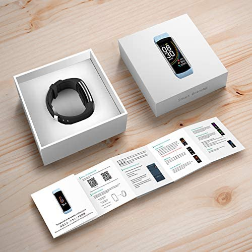 UMO Intelligent Bracelet, Multifunctional Temperature Measuring, Fever Detection Waterproof Smart Watch, Smartband, Heart Rate, Pedometer, Activity & Fitness Trackers 4