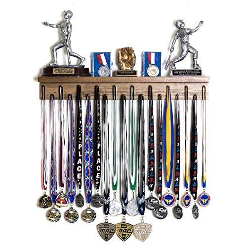 - Premier 2ft Award Medal Display Rack and Trophy Shelf