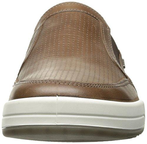 Ecco Heren Jack Geperforeerde Slip Op Fashion Sneaker Cacaobruin