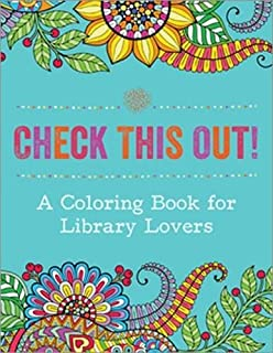 A Coloring Book For Library Lovers