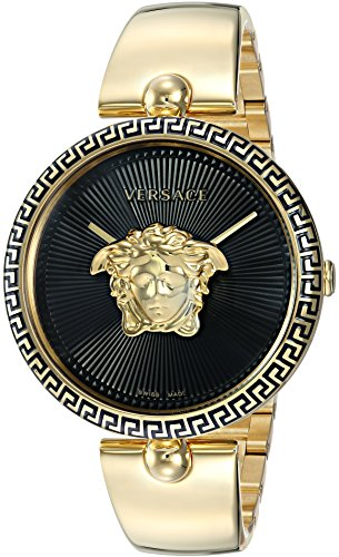 Versace Women's 'Palazzo Empire' Swiss Quartz and Stainless Steel Casual Watch, Color:Gold-Toned (Model: VCO100017)