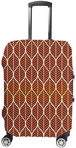 スーツケースカバー 伸縮素材 トラベルダストカバー キャリーカバー 紛失防止 汚れや傷防止 お荷物保護 トラベルダストカバー 着脱簡単 通気性 海外旅行 出張用 便利グッズ 男女兼用 黄金の熱帯雨林の背景