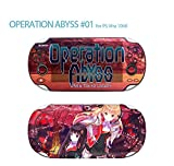 Skin Decal Sticker For Ps Vita 1000 Series Pop Skin-Operation Abyss #01+Screen Protector+Offer Wallpaper Image