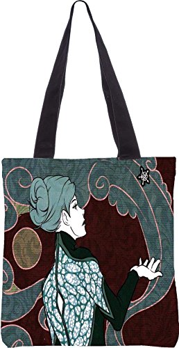Snoogg womensurrounded 13.5 x 15 Zoll-Shopping-Dienstprogramm-Einkaufstasche aus Polyester-Segeltuch gemacht