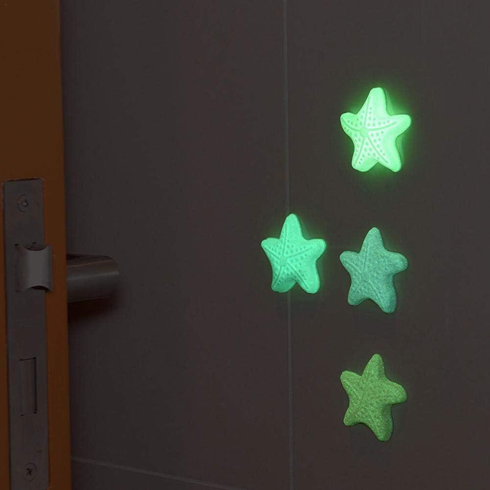 Protezione per pareti Maniglia per Porta autoadesiva Paracolpi Tamponi paracolpi Silenziatore Crash Pad Maniglia Cuscino Luminoso thorityau Paracolpi per Porte in Gomma Paracolpi