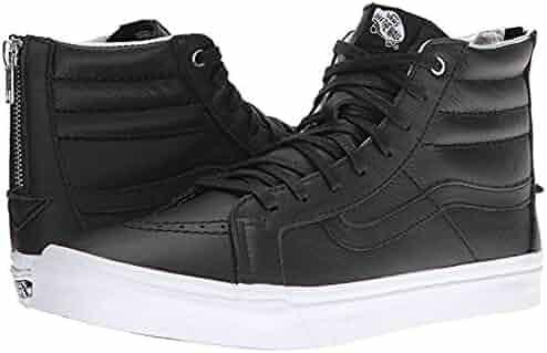 4b616b3e231 Vans Men s Sk8 Hi Slim (Hologram) Zip Skateboarding Shoes (5.5 US Women