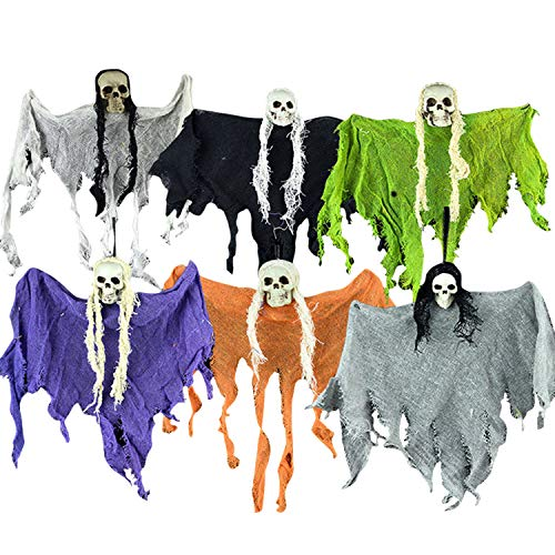 - Hanging Monster Ghost Skeleton Halloween Props Haunted House Yard Scary Decor