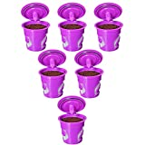 FROZ-CUP 2.0-6 Refillable/Reusable K Cups for Keurig 2.0 - K200, K300, K400, K500 Series and all 1.0 Brewers (6-Pack)