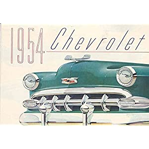 1954 Chevrolet Bel Air 210 150 Sales Brochure