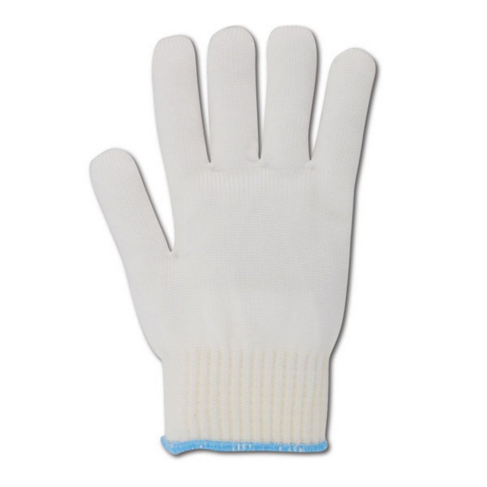 Magid Glove & Safety 5NY-M Magid Knit Master 5NY High Density Heavy Machine Knit Glove with Knit Wrist, White , Medium (Pack of 12)