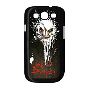 Why So Serious Artwork Samsung Galaxy S3 9300 Cell Phone Case Black Exquisite gift (SA_469626)