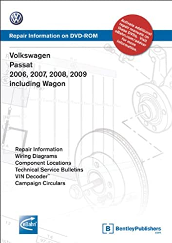 volkswagen passat 2006 2007 2008 2009 includes wagon repair rh amazon com 2000 vw passat owners manual 2000 passat service manual pdf